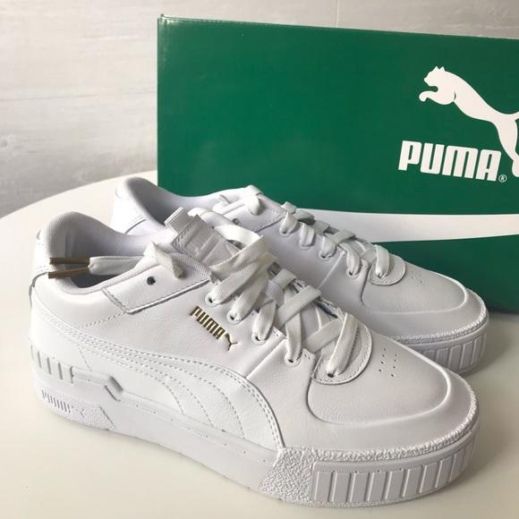 BNIB Puma Cali Sport Platform Sneaker White